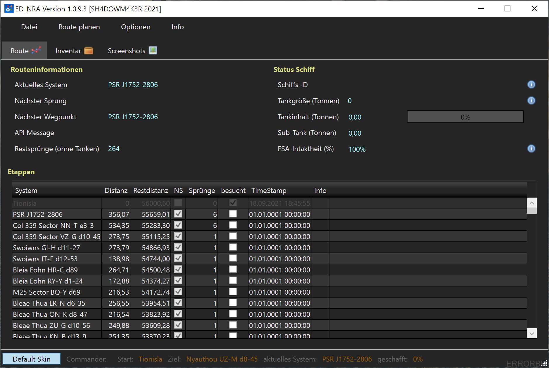 EDNRA-Screenshot